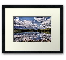 Patricia Lake, Westerly View Framed Print