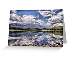 Patricia Lake, Westerly View Greeting Card
