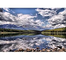 Patricia Lake, Westerly View Photographic Print