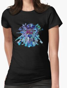 Crystal Ball Purple Blue Womens Fitted T-Shirt
