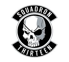 SQUADRON 13 STICKER by CaptZ