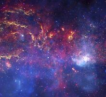 THE EVOLVING UNIVERSE - NASA - DEEP SPACE - GALACTIC CENTER - 9725x4862 by frictionqt