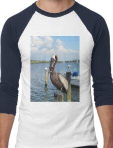 Walter Matthau the Pelican Men's Baseball ¾ T-Shirt