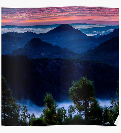 Waiting for Sunrise in the Mayacamas Poster