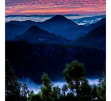 Waiting for Sunrise in the Mayacamas Photographic Print