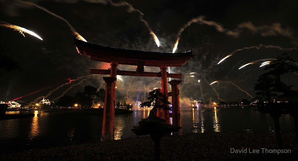Fireworks over the World by David Lee Thompson