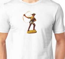 Toy Cowboy with rope lasso Unisex T-Shirt