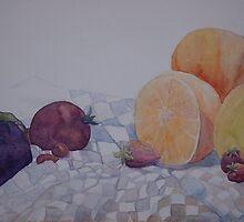 fruitful still life by Ellen Keagy
