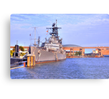 USS Little Rock Metal Print