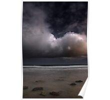 Storm approaching Maslin Beach Poster