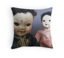 Dolls ll Throw Pillow
