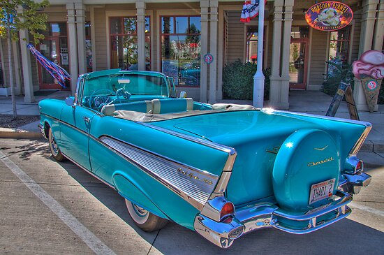 Chevy Bel-Air Convertible by ECH52