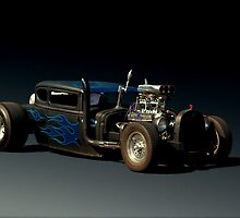 "1930 Ford Rat Rod ""Got Beer""   by TeeMack"