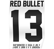 RED BULLET 13 Poster