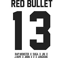 RED BULLET 13 Photographic Print