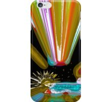 Flood lights, jewels rock, gold and teal iPhone Case/Skin