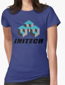 Initech Corp. Womens Fitted T-Shirt