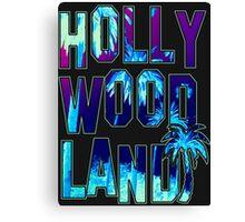 Hollywood Land Canvas Print