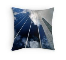 Cloud-tecture Throw Pillow