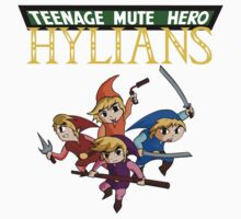 Teenage Mute Hero Hylians! Kids Clothes