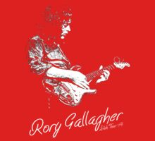 Rory Gallagher Irish tour 74 Kids Tee