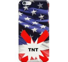 American Flag with Dynomite iPhone Case/Skin