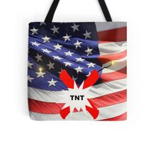 American Flag with Dynomite Tote Bag