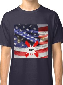 American Flag with Dynomite Classic T-Shirt