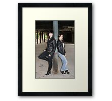 PhotoShoot in the old mill #003 Framed Print
