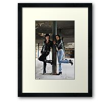 PhotoShoot in the old mill #006 Framed Print