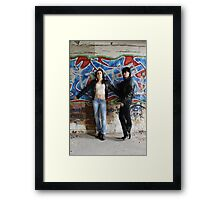 PhotoShoot in the old mill #009 Framed Print