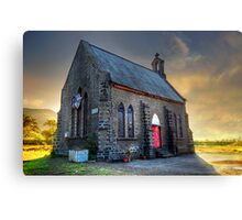 Old Church (Please Enlarge) Canvas Print