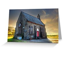 Old Church (Please Enlarge) Greeting Card