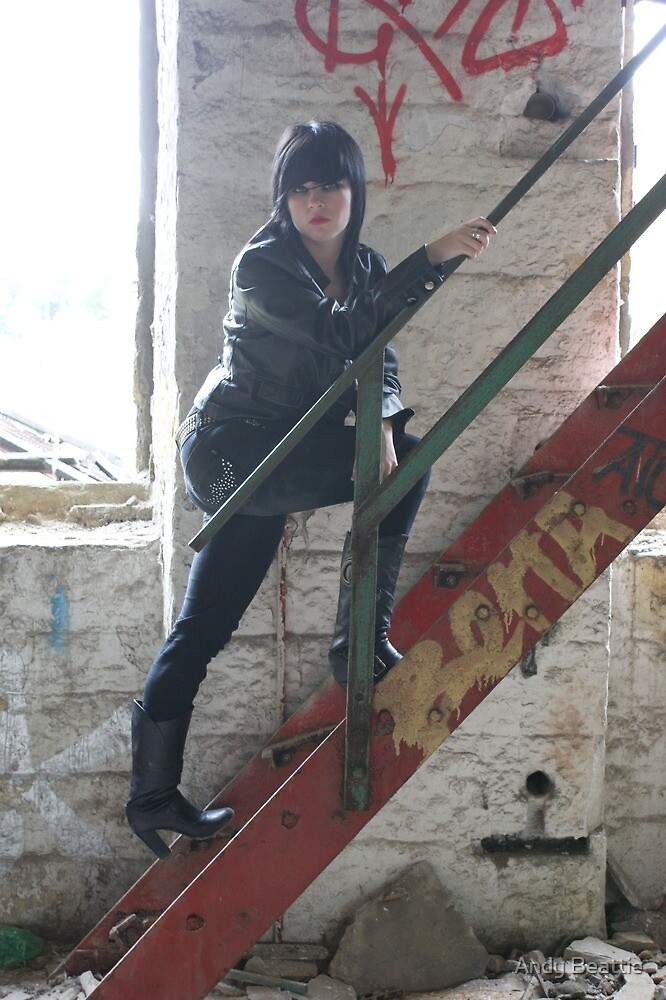 PhotoShoot in the old mill #014 by Andy Beattie