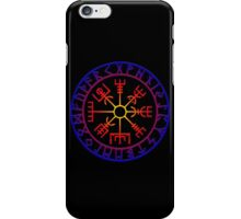 Vegvísir (Icelandic 'sign post') Symbol - SUMMER iPhone Case/Skin