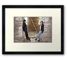 PhotoShoot in the old mill #022 Framed Print