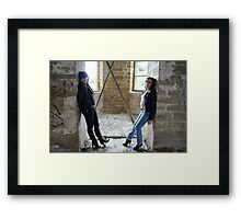 PhotoShoot in the old mill #023 Framed Print