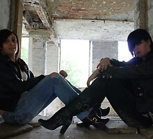 PhotoShoot in the old mill #025 by Andy Beattie