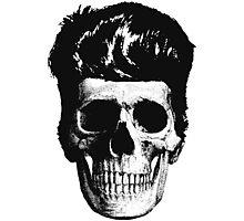Rockabilly Skull Photographic Print