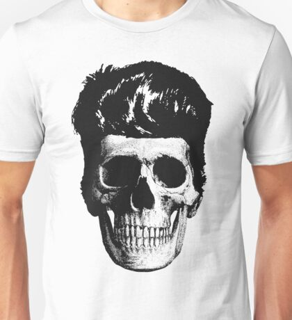 Rockabilly Skull Unisex T-Shirt