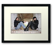 PhotoShoot in the old mill #027 Framed Print
