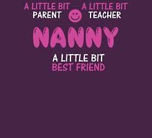 Cute Nanny T Shirt Womens Fitted T-Shirt