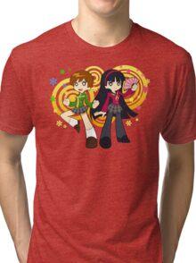 Chie and Yukiko Tri-blend T-Shirt