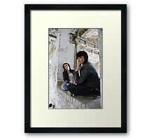 PhotoShoot in the old mill #032 Framed Print