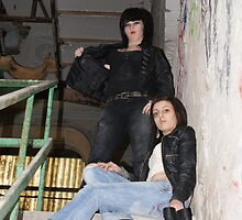 PhotoShoot in the old mill #038 by Andy Beattie