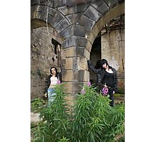 PhotoShoot in the old mill #039 Photographic Print