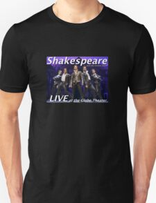 Shakespeare and the leather boys LIVE T-Shirt