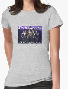 Shakespeare and the leather boys LIVE Womens Fitted T-Shirt