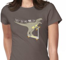 They See Me Rollin' - Dark shirt version Womens Fitted T-Shirt