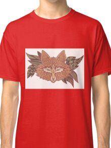 Fox head. Native american style. Ethnic animals Classic T-Shirt